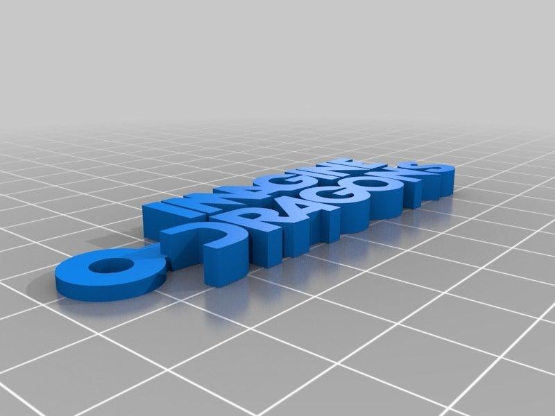 4409f44f88a13ee67a89a473a09842ba.png Download free STL file Imagine Dragons Logo Keychain • 3D print design, mcko