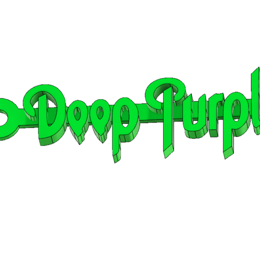 deeppurpleMCKO.png Download free STL file Deep Purple Logo Keychain • 3D printable model, mcko