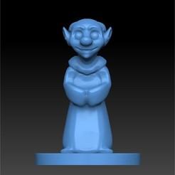 Descargar diseños 3D gnomo sacerdote mini, bluecat93