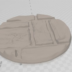 Download free 3D printing models stone road base, bluecat93