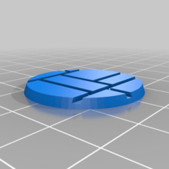 8dee348c42e9e6396be1b8c31d7d12ea.png Download free STL file 28mm brick base • 3D printing model, bluecat93