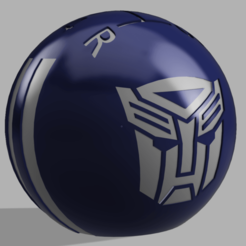 Annotation 2020-02-15 224446.png Download OBJ file Autobot Shift Knob • 3D printing model, Cybertron3D