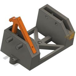 design.png Télécharger fichier STL gratuit Prusa MMU2 manque le support de l'enceinte • Plan pour impression 3D, Cybertron3D