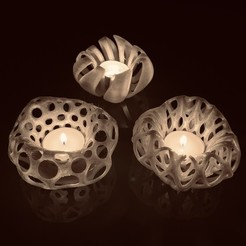 Download 3D printing files Tea light Candles, Criscris