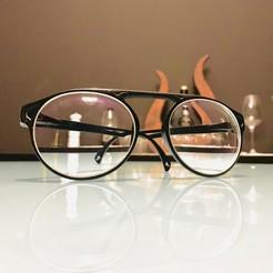 Download 3D printing templates Eye Glasses - model B1, Criscris