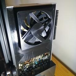 Download free 3D model Ender 3 Pro PSU cover fan 80mm, J-M_D