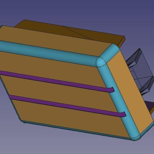 VW_T4_Dashboard_Blank_Hook_v2.jpg Télécharger fichier STL gratuit VW T4 Tableau de bord vierge • Design pour imprimante 3D, J-M_D