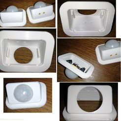 Total.jpg Download free STL file PIR_sensor_Box • 3D printable design, J-M_D