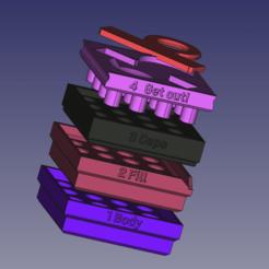 Descargar diseños 3D gratis Cápsula de relleno x16 Tamaño #1 gellule, J-M_D