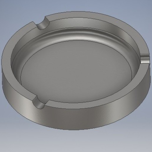 Télécharger fichier STL gratuit CENDRIER Ø80mm • Plan pour imprimante 3D, therobber95