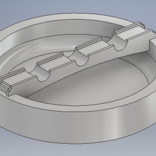Download free STL file BRIDGE ASHTRAY • 3D printer model, therobber95
