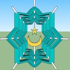 Q.jpg Télécharger fichier STL Symbole spécial turc, islamique • Design à imprimer en 3D, Murray06