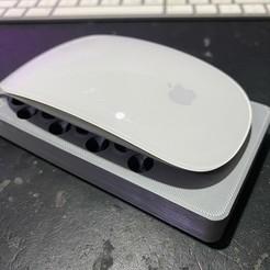 720X720-117044406-10221425473400001-4308421491813208169-o.jpg Télécharger fichier STL Quai de chargement Magic Mouse - Magic Cheese • Objet pour impression 3D, GreebleTech