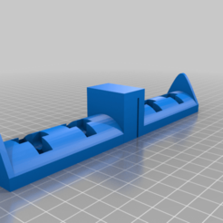 Download free 3D printing designs Dual spool system (holder, guide, clip), 00monter00