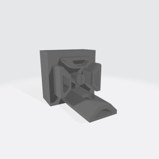 Filament_guide_clip_horizontal.jpg Download free STL file Dual spool system (holder, guide, clip) • 3D printer model, 00monter00