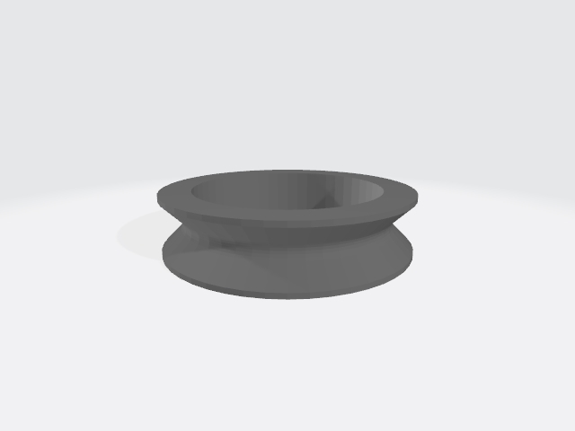 bearing_v_ring.jpg Download free STL file Dual spool system (holder, guide, clip) • 3D printer model, 00monter00