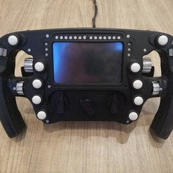IMG_20201106_165958.jpg Download STL file McLaren MCL33 Steering wheel • 3D printable object, ImJustBulidingStuff