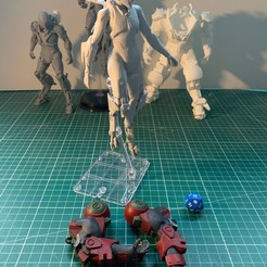 Descargar archivo 3D La jabalina interceptora del himno y los brazos del coloso, MarcLeptic