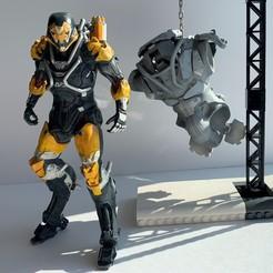 Descargar archivo 3D La jabalina del Anthem Ranger y el torso del Coloso, MarcLeptic