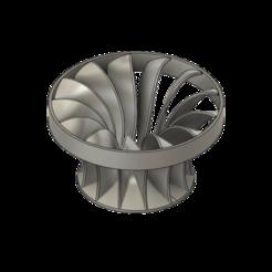 Impresiones 3D Turbina Francis, 3dmanusv