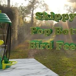 Feeder_TitlePage.jpg Download free STL file Skippy's Pop Bottle Bird Feeder • 3D print object, skippy111taz