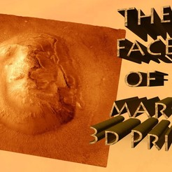 Rendertitle.jpg Download free STL file Face Of Mars • 3D print object, skippy111taz