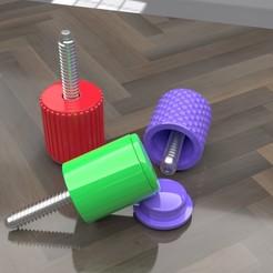 Descargar archivo 3D gratis El tornillo de cualquier pulgar..., skippy111taz