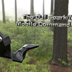 Title.jpg Télécharger fichier STL gratuit Centre de commandement mobile DJI Spark/Mavic • Modèle pour imprimante 3D, skippy111taz