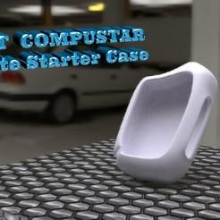 Rendering1.jpg Download free STL file Compustar Remote Car Starter Case • 3D print design, skippy111taz