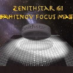 Descargar archivo 3D gratis Máscara Zenithstar 61 Bahitnov, skippy111taz