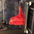 Download free OBJ file Godzilla 1954 figure and bottle opener • 3D printer model, skippy111taz