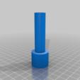 filaflex_tube.png Download free STL file FIlaflex adapter for Prusa i3 Hephestos • Design to 3D print, touchthebitum