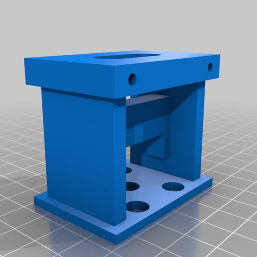 aerial_mob_sjcam.png Download free STL file TBS Discovery SJCAM Support • 3D printing template, touchthebitum
