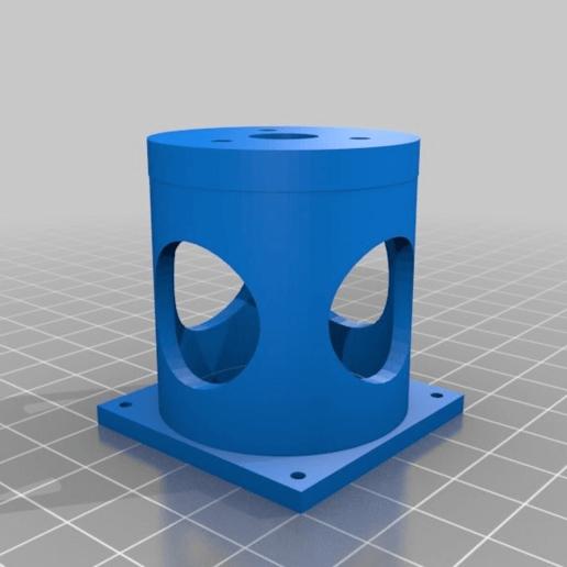 castello_motore_mustang.png Download free STL file Arttech Mustang motor mount • 3D print template, touchthebitum