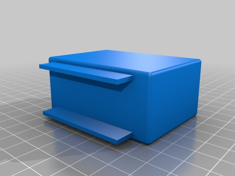 Foris_remote_box.png Download free STL file Eizo Foris FS2333 Remote Holder • 3D printing template, touchthebitum