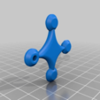 fbe1717fa77fa7913c8c762325c38177.png Download free STL file Flexible Drone keychain • 3D printable model, touchthebitum