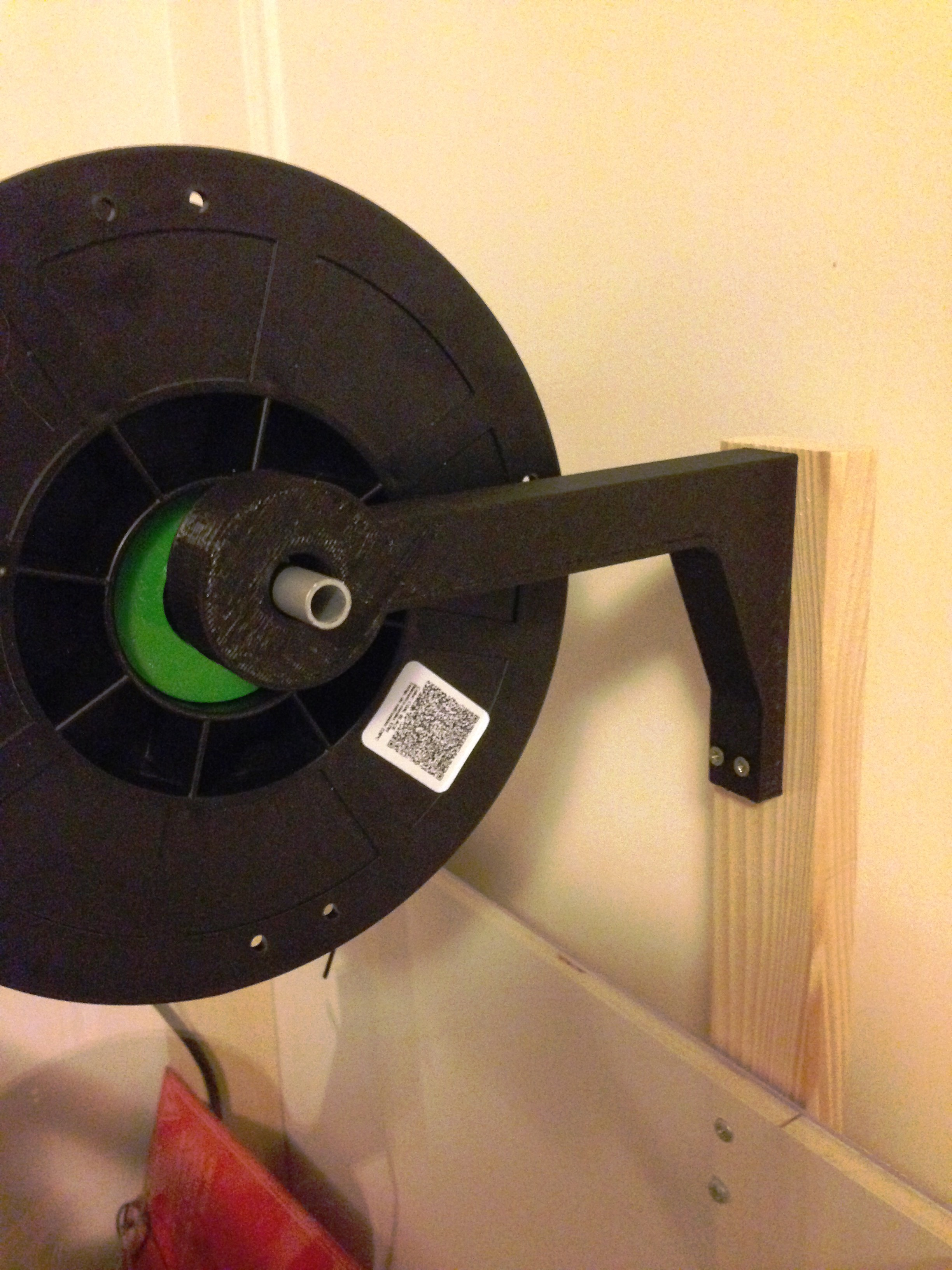 IMG_1788.JPG Download free STL file Spool support arm • 3D printer design, touchthebitum