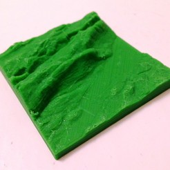Download free STL file Neuchâtel topography • Template to 3D print, touchthebitum