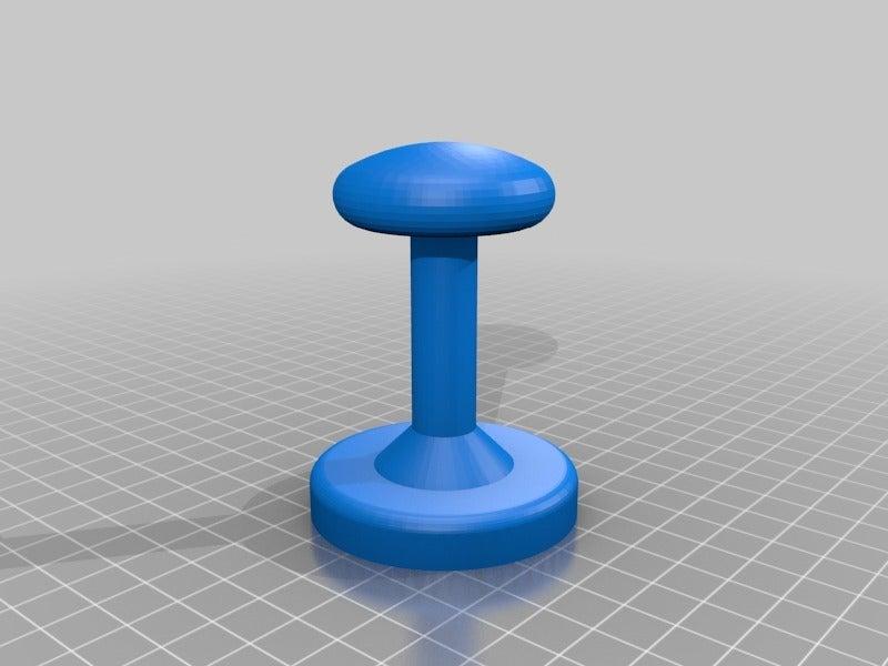 temper.png Download free STL file tamper 57mm • 3D printing design, touchthebitum