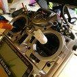 Taranis_lever_v2.jpg Download free STL file Taranis lever V2 Filaflex • 3D printing design, touchthebitum