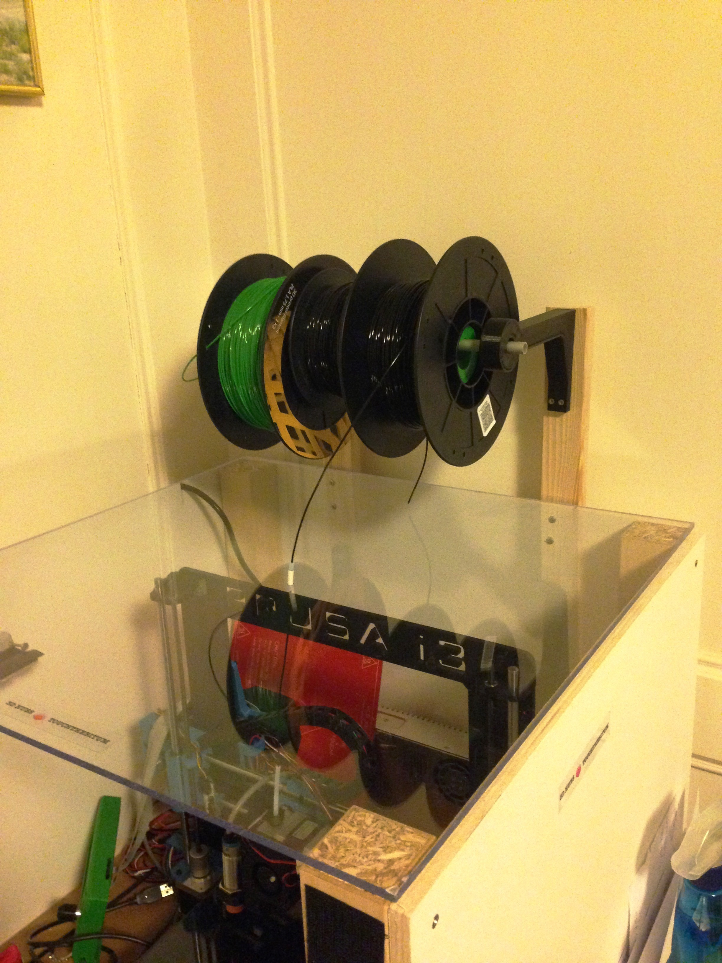 IMG_1787.JPG Download free STL file Spool support arm • 3D printer design, touchthebitum