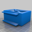 Foris_remote_box_smooth.png Download free STL file Eizo Foris FS2333 Remote Holder • 3D printing template, touchthebitum