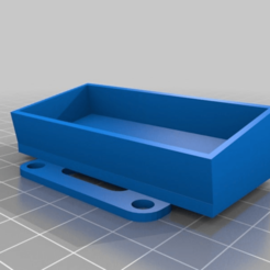 Download free STL file SJCAM 5000+ mount • 3D printable template, touchthebitum