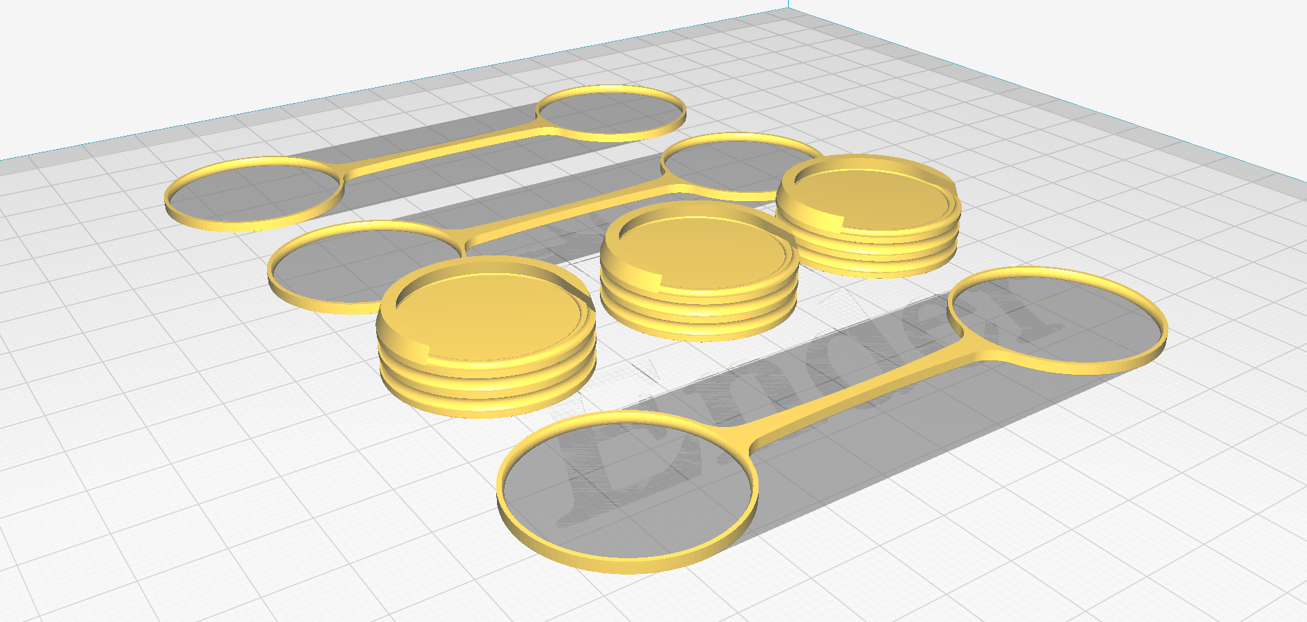 Cura_Example.png Download free STL file 25mm Max Unit Cohesion Movement Tray • Template to 3D print, aLazyCamper