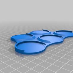 40mm_Movement_Tray_-_.5inch_Cohesion.png Download free STL file 40mm Movement Tray - .5inch Cohesion • 3D printable model, aLazyCamper