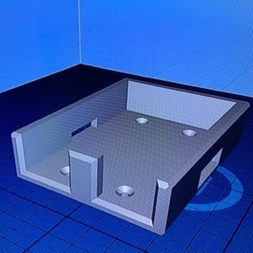 gens ace 4000.jpg Télécharger fichier STL Lipo 2S RX battery holder gens ace 4000 • Design imprimable en 3D, 3DDrone