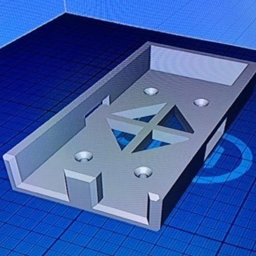 86499514_189503812324490_2194329904269492224_n.jpg Télécharger fichier STL Lipo 2S RX battery holder gens ace 3500 • Plan imprimable en 3D, 3DDrone