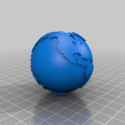 Globe-Hollow-Metric-51mm.png Télécharger fichier STL gratuit Globe terrestre creux de deux pouces • Objet imprimable en 3D, johnbearross