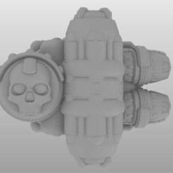 WCMPod-V2-4.jpg Download free STL file Warp Countermeasure Pod (WCM Pod) • 3D printing model, johnbearross