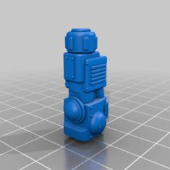 SmallKnightBattleClaw-MainBody-EightyPercent.png Download free STL file Small Knight Battle Claw • Design to 3D print, johnbearross